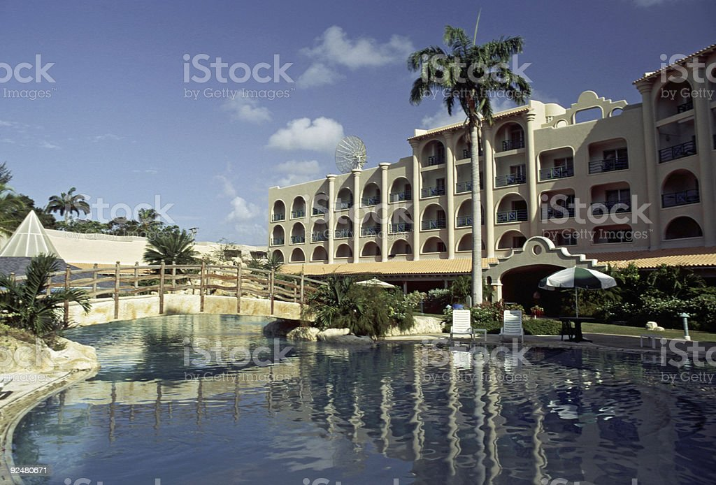 The Accra Hotel, Barbados royalty-free stock photo