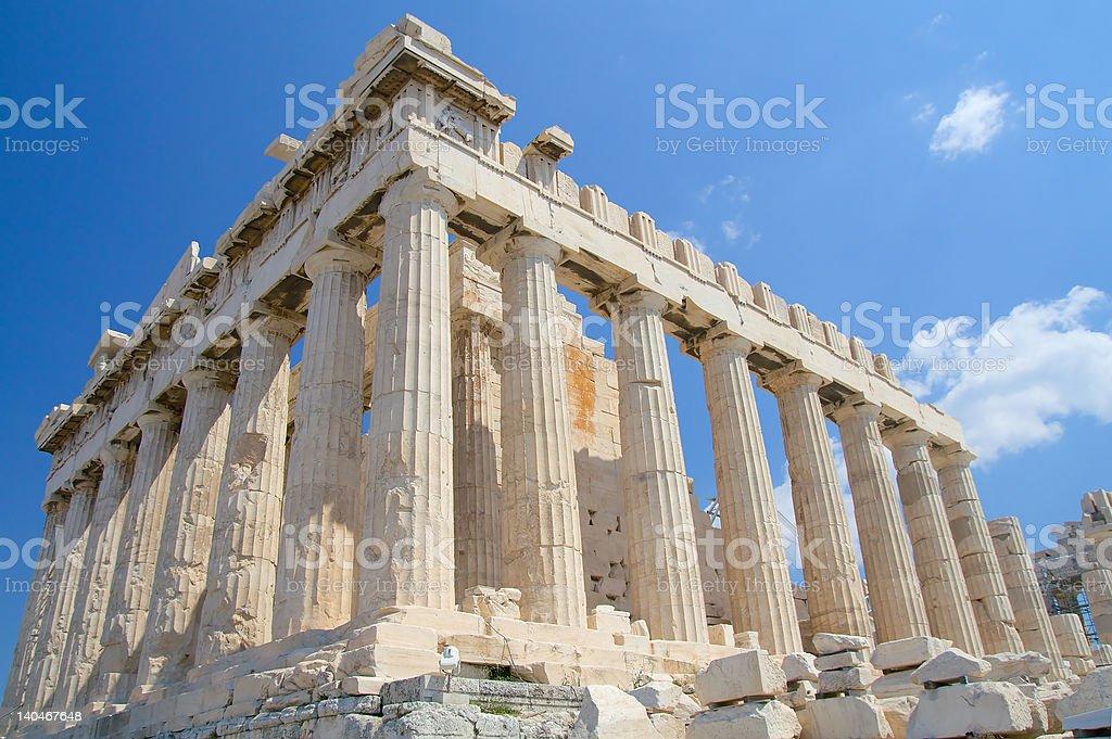 The Acropolis, Athens stock photo
