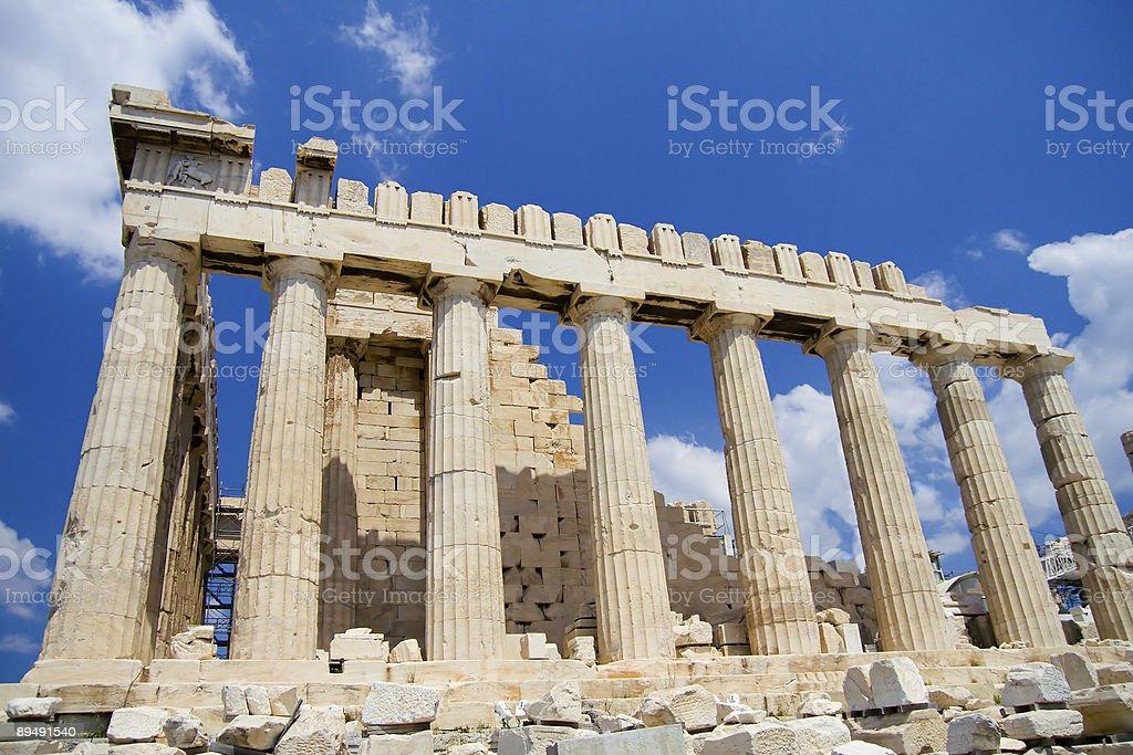 The Acropolis, Athens royalty-free stock photo