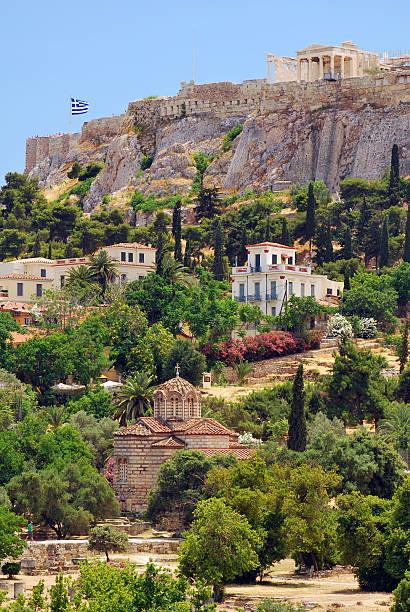 Die Akropolis-Hügel – Foto
