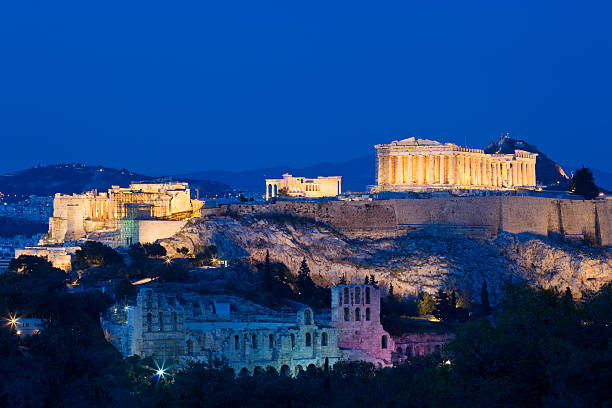 Die Akropolis in Athen, Griechenland – Foto