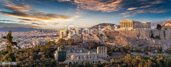 istock The Acropolis of Athens, Greece 891497792