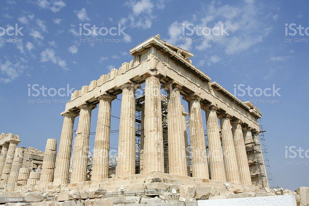 The Acropolis stock photo