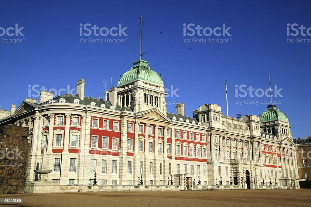 The Admiralty In Whitehall royalty-free stock photo