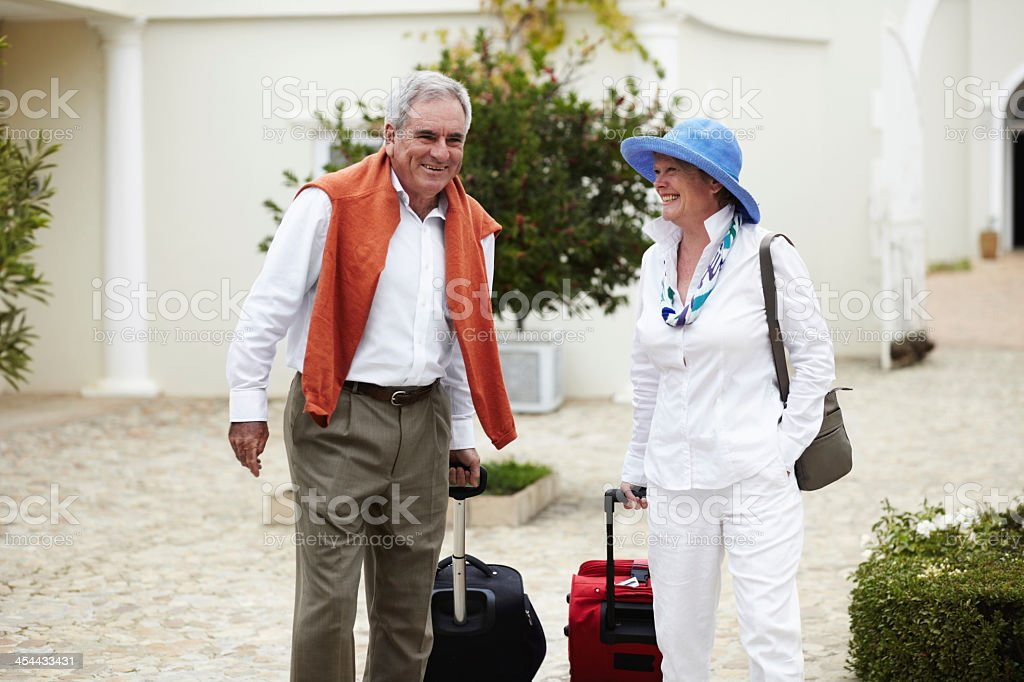 The adventure begins! - Vacations & Holidays royalty-free stock photo
