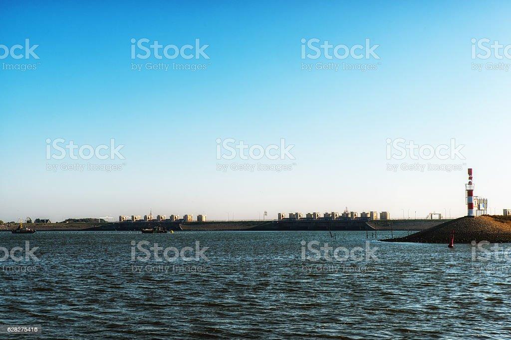 The Afsluitdijk, The Netherlands foto