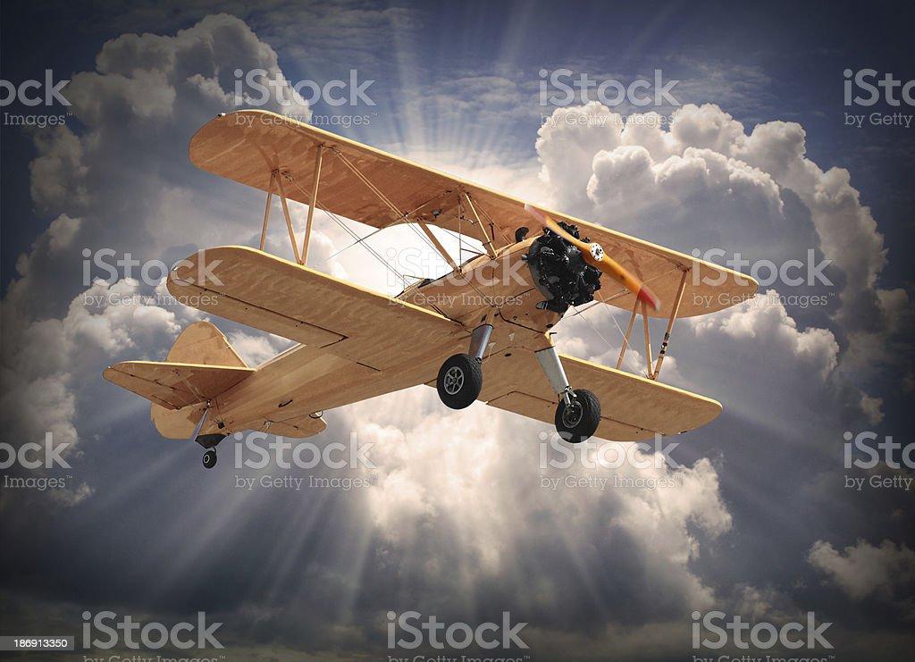 The Aircraft. royalty-free stock photo