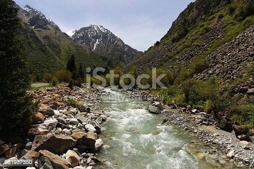 istock The Ala Archa National Park in the Tian Shan mountains of Bishkek  Kyrgyzstan 981937350