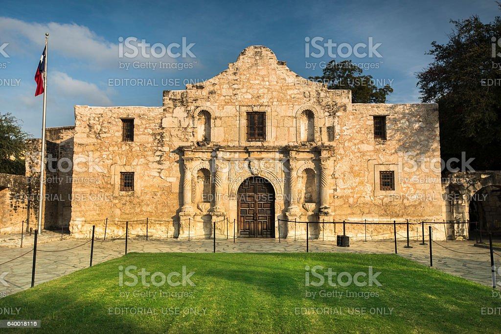 The Alamo in San Antonio, Texas, USA stock photo
