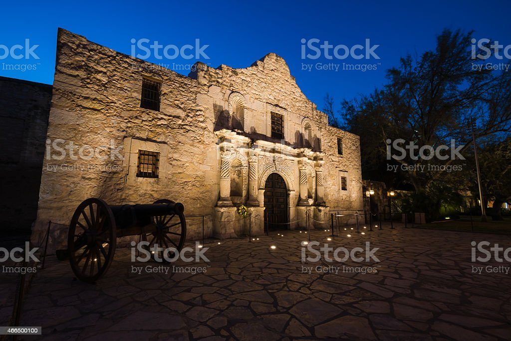 The Alamo stock photo