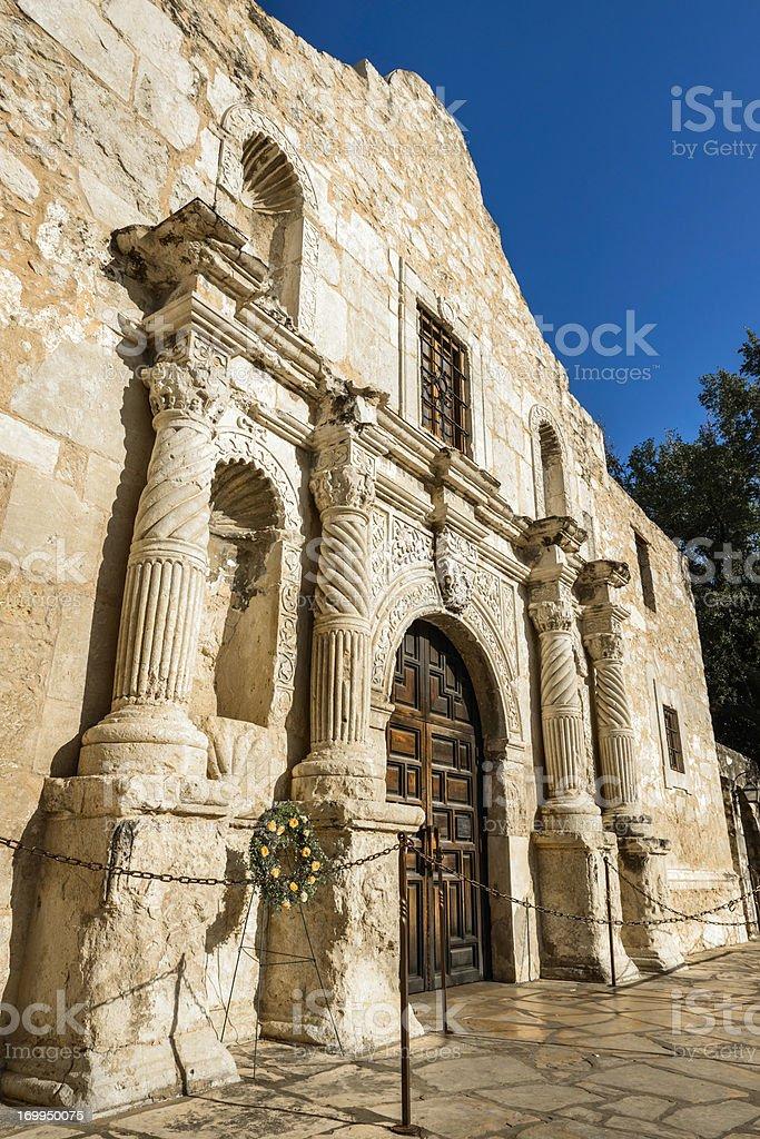 The Alamo - San Antonio Texas stock photo