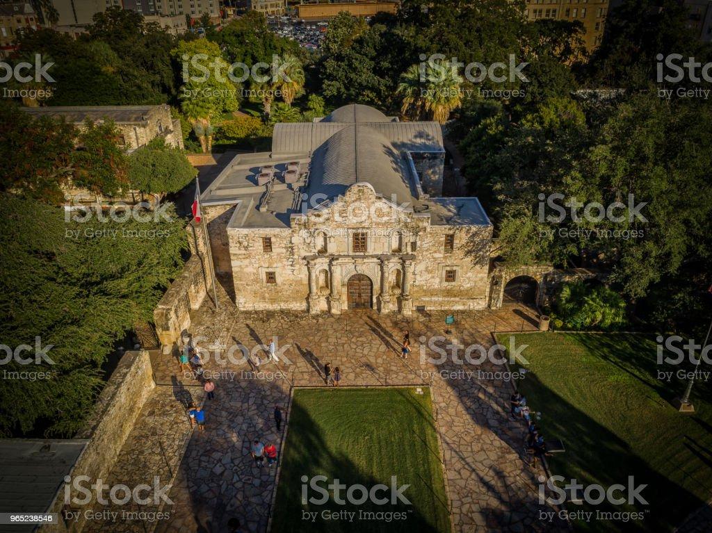 The Alamo - San Antonio, Texas zbiór zdjęć royalty-free