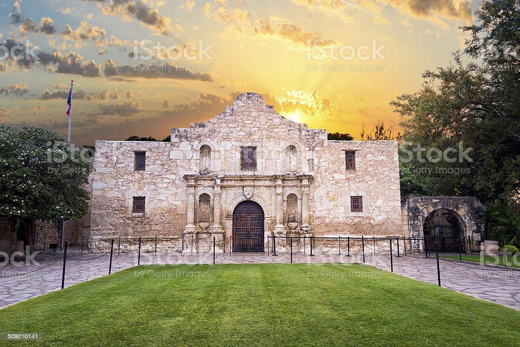 The Alamo, San Antonio, TX stock photo