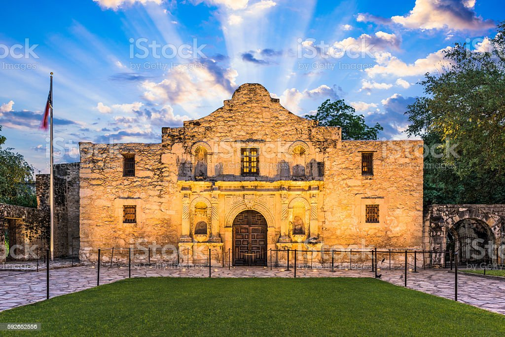 The Alamo, Texas stock photo