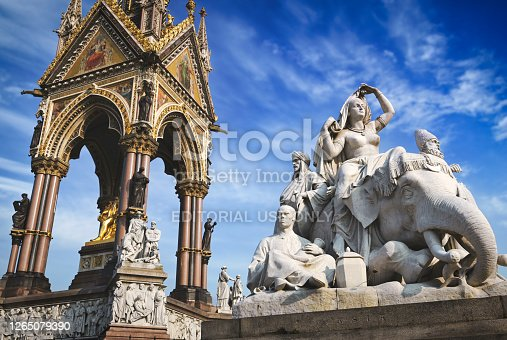 istock The Albert Memorial in London, UK 1265079390