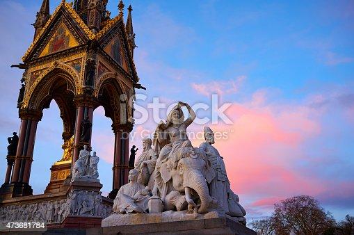 istock The Albert Memorial In London's Kensington Gardens 473681784