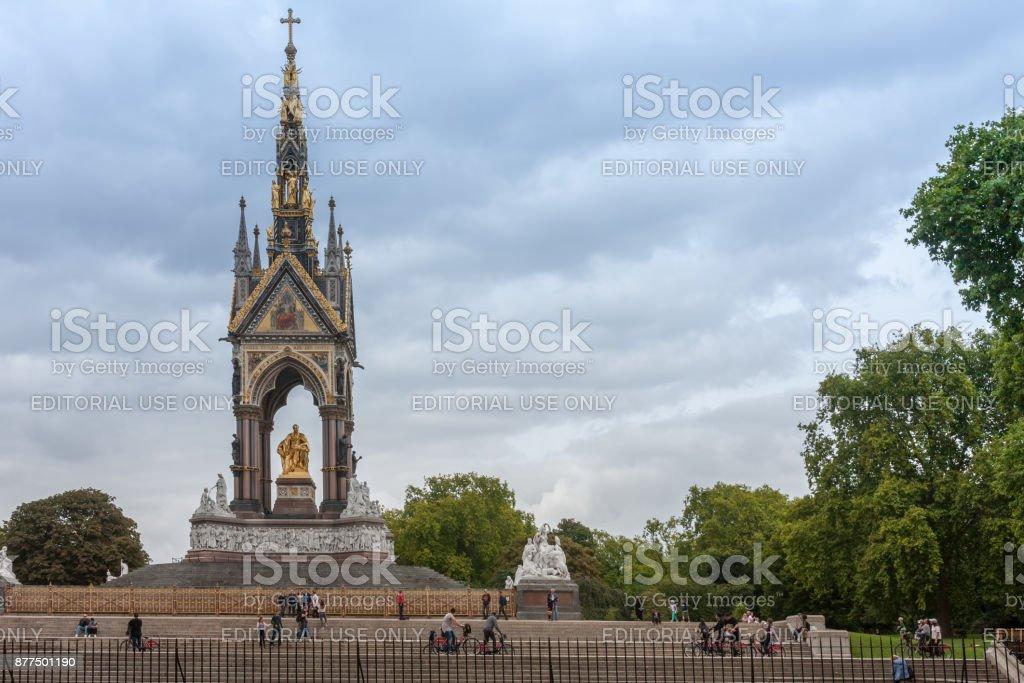 The Albert Memorial stock photo
