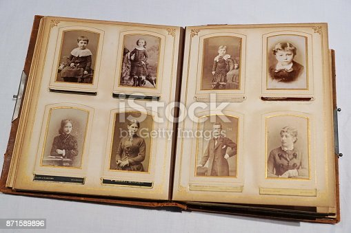 478384809 istock photo The album of our great grandparents. 871589896