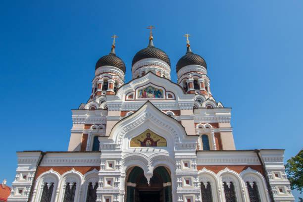 Die Alexander-Newski-Kathedrale in Tallinn. – Foto