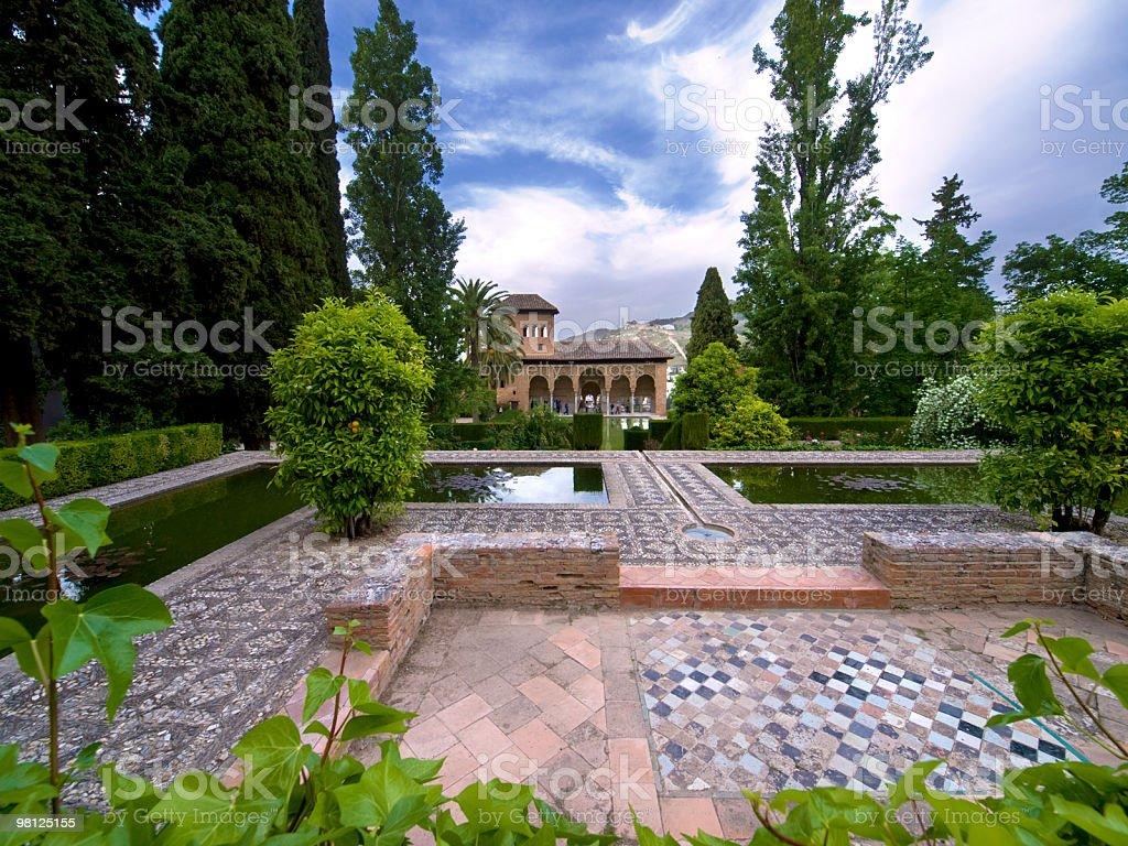 L'Alhambra foto stock royalty-free