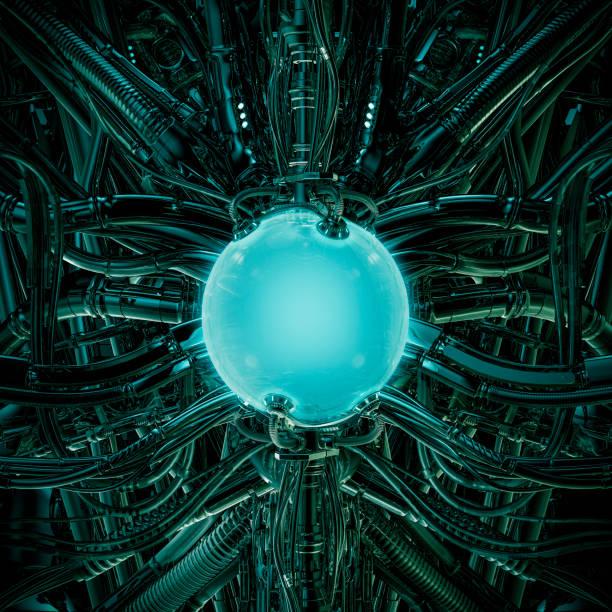 The alien pod stock photo
