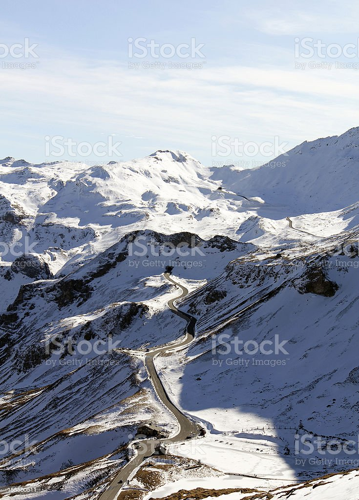 오스트레일리안 알프스 산맥 royalty-free 스톡 사진