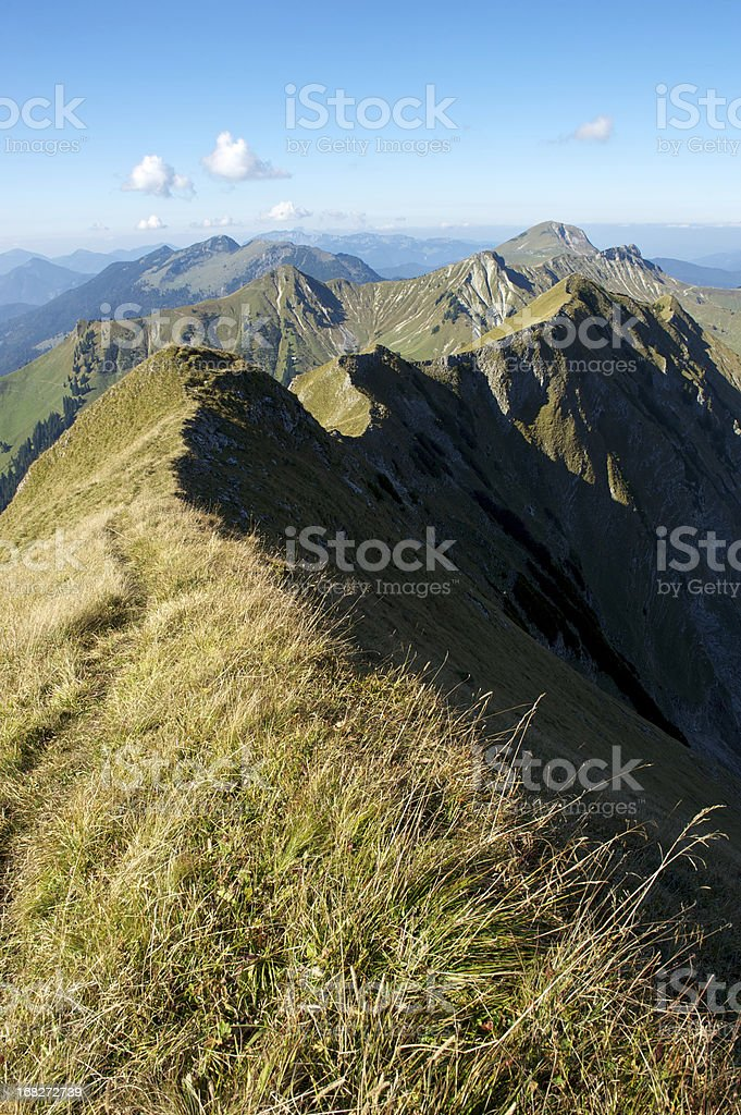 The Alps royalty-free stock photo