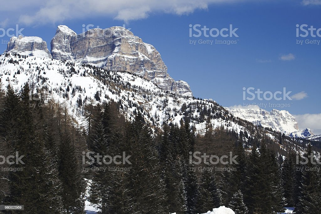 The Alps (Italy, Dolomites) royalty-free stock photo