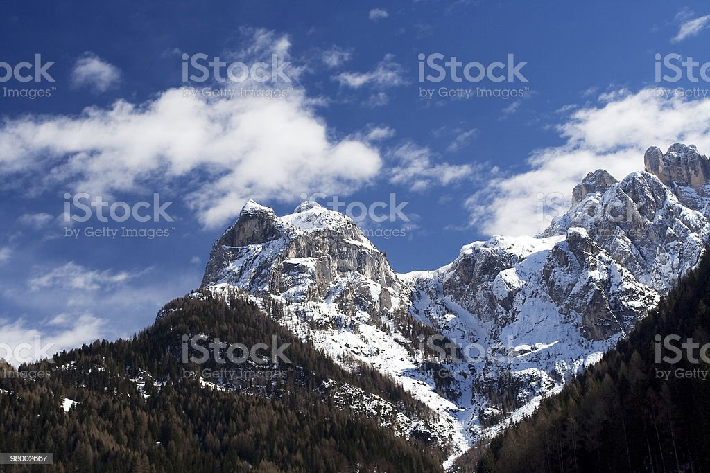 The Alps (Italy, Dolomites) royalty-free stock photo