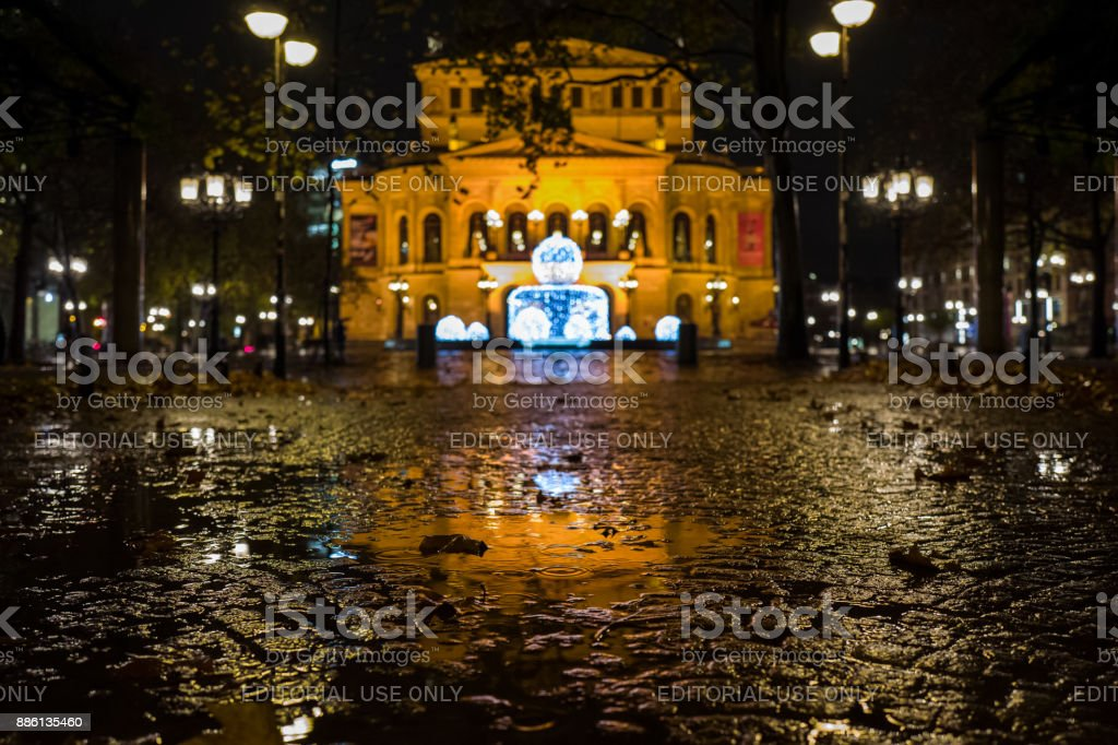 Der alten Oper Frankfurt (alte Oper) – Foto