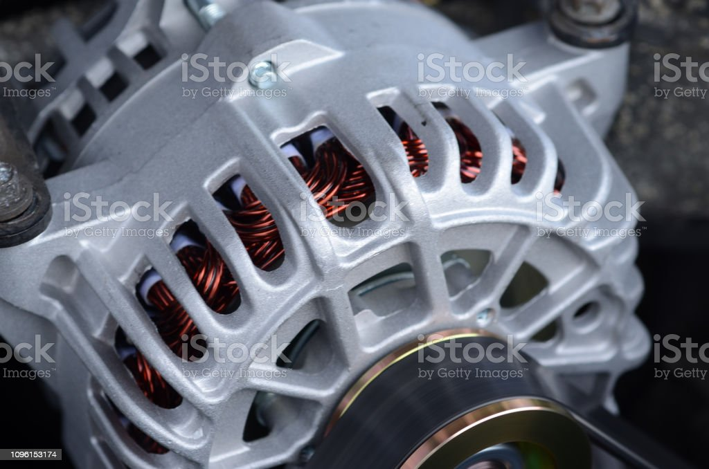 The alternator stock photo