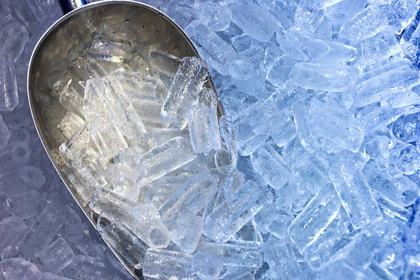 The aluminum scoop and ice The aluminum scoop and ice machinery stock pictures, royalty-free photos & images