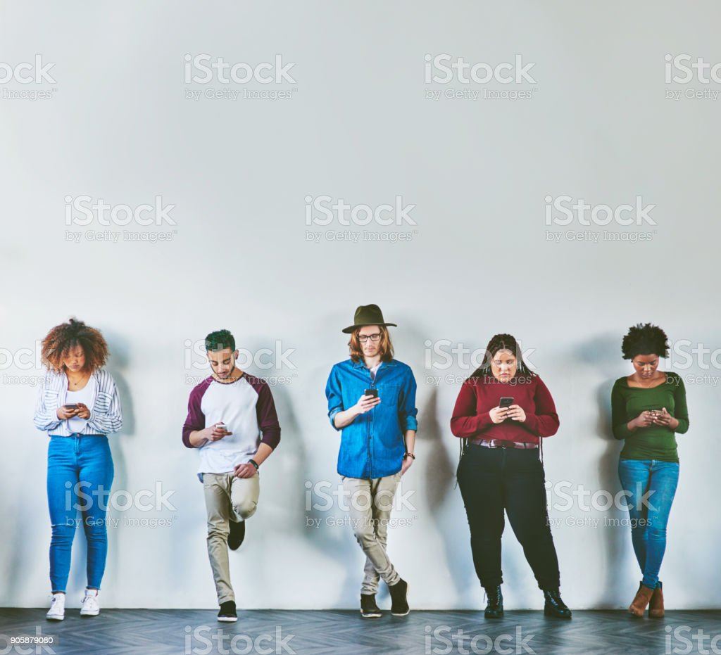 The always available generation stock photo