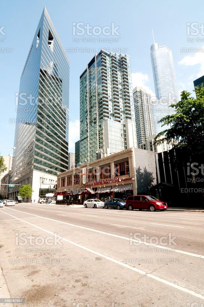 The AMA Plaza royalty-free stock photo