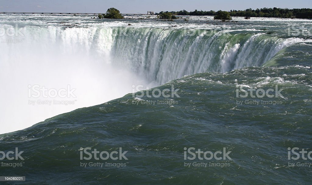 The Amazing Falls royalty-free stock photo