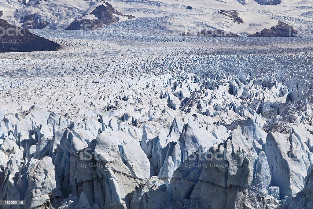 The amazing Perito Moreno glaciar. royalty-free stock photo