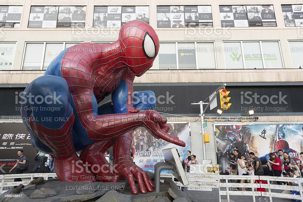 The Amazing Spider-Man 2 stock photo