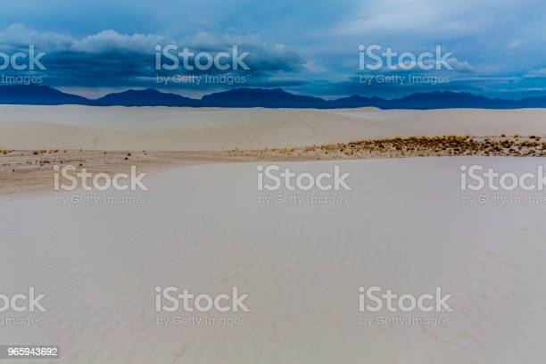 The Amazing Surreal White Sands Of New Mexico Stock Photo - Download Image Now