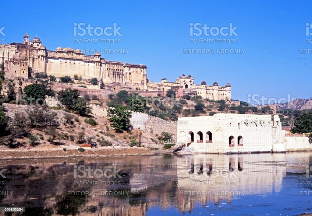 The Amber Fort stock photo
