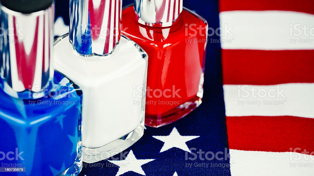 The American Colors of Summer royalty-free stock photo