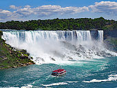The American Falls at Niagara Falls