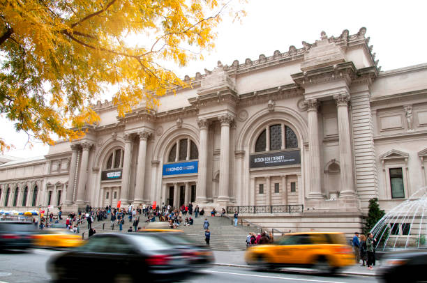 The American Museum of Natural History, New York City stock photo
