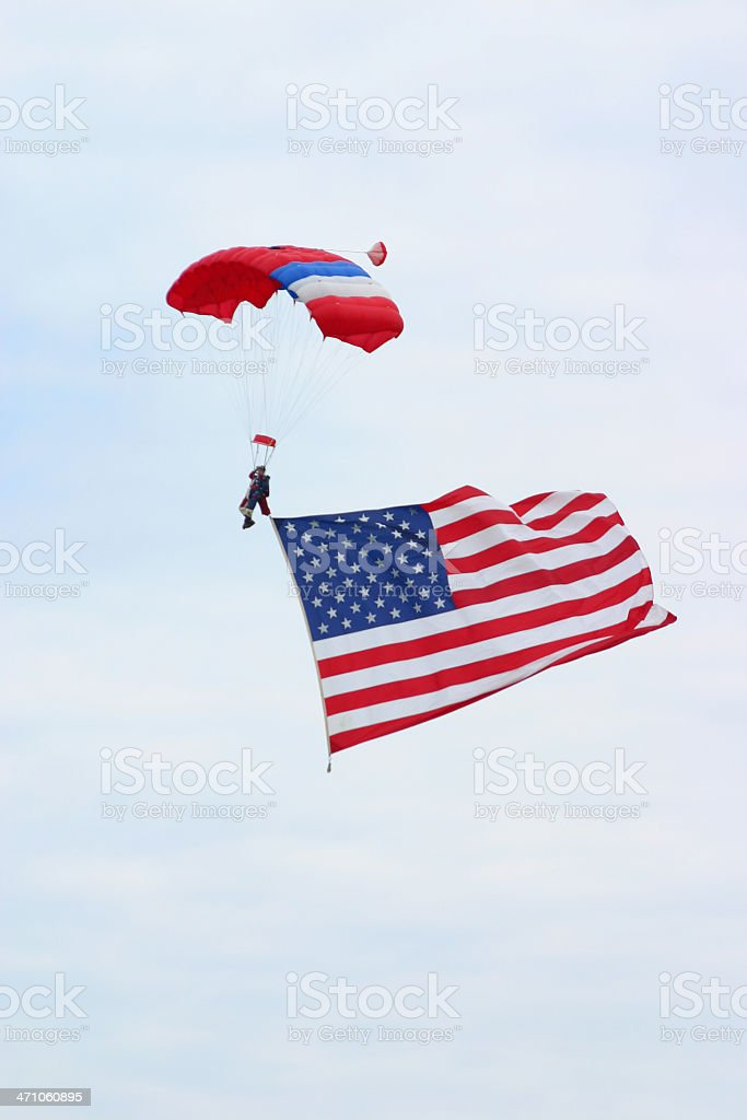 The american way stock photo