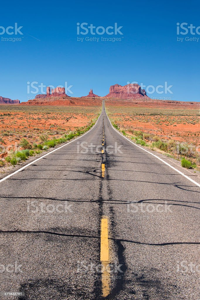 The American West royalty-free stock photo