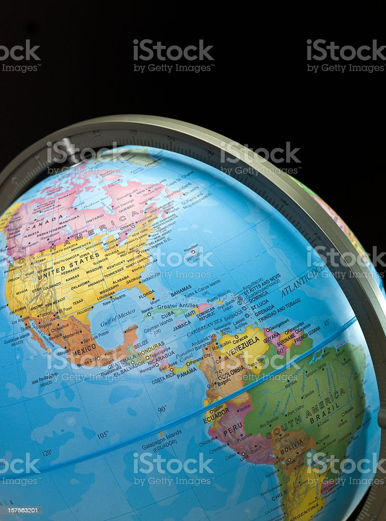 The Americas royalty-free stock photo