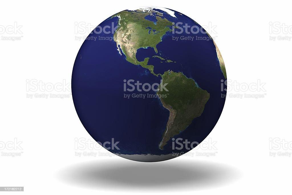 The Americas stock photo