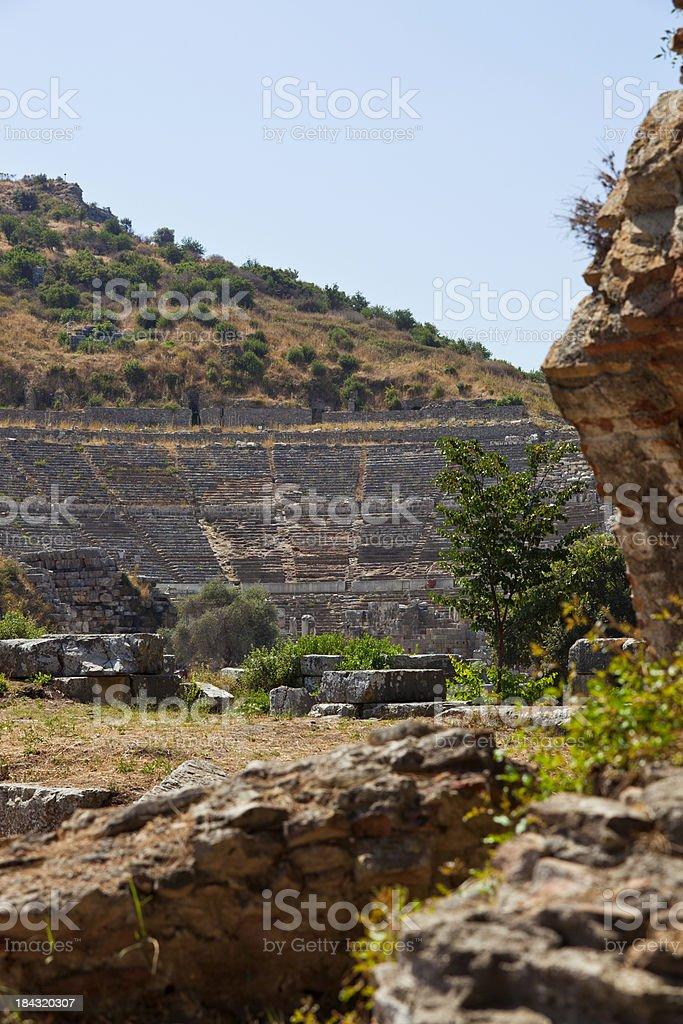 The amphitheatre - Ephesus royalty-free stock photo