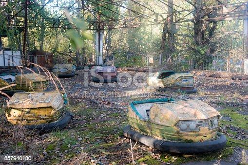 istock The amusement park of Pripya 857940180