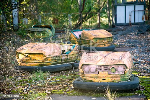 istock The amusement park of Pripyat 857939430