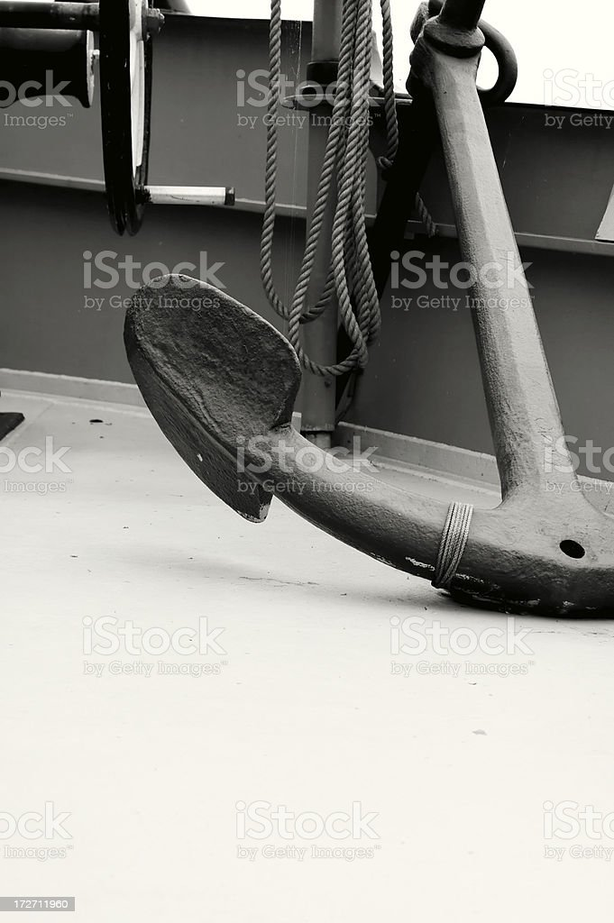 The anchor in my life royalty-free stock photo